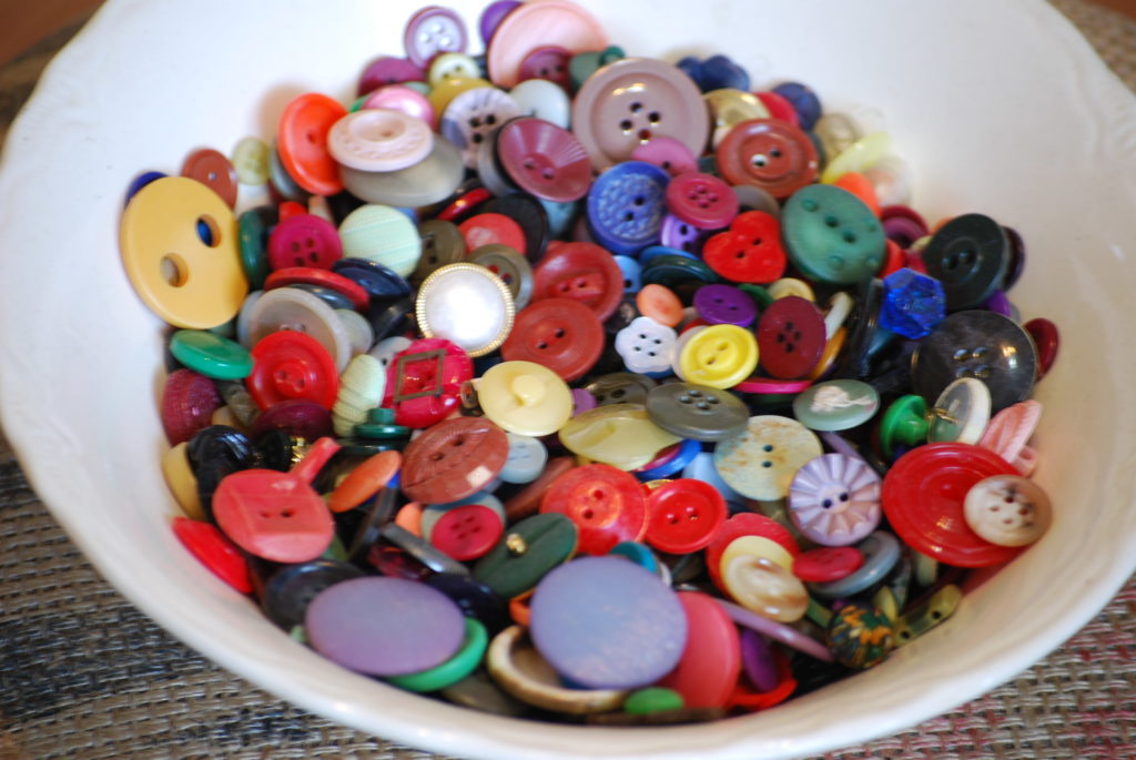 pretty button storage solutions