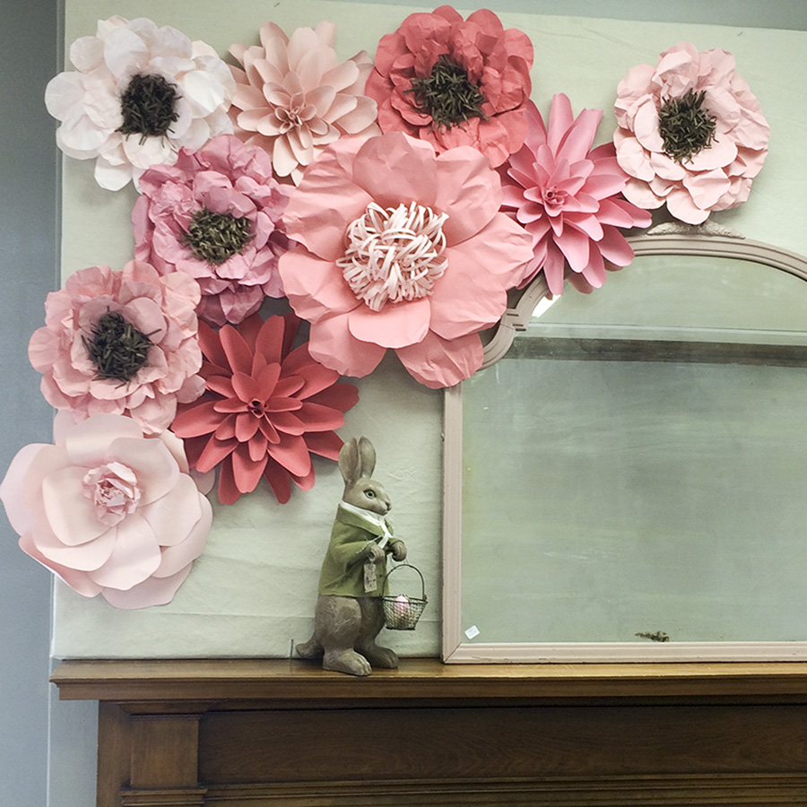 paper flower set original | Barb Ann Designs |