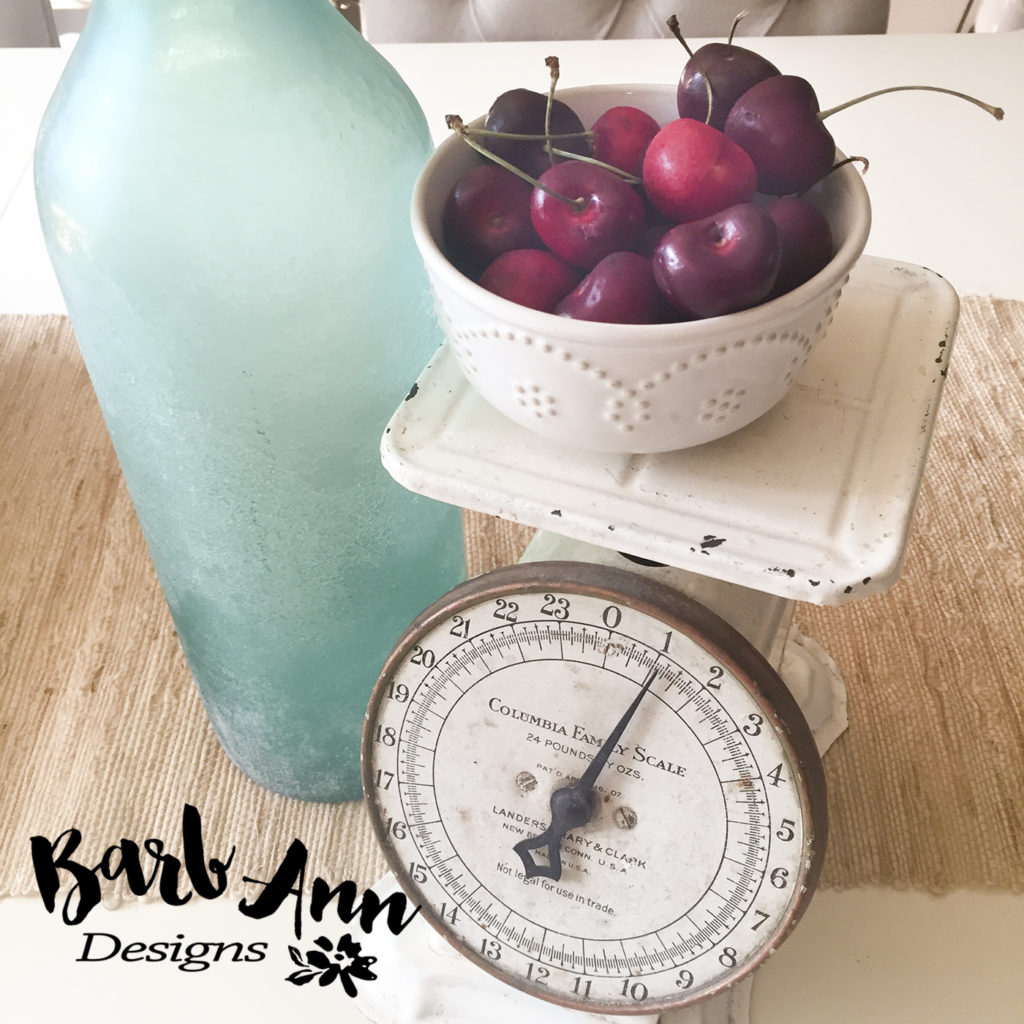 cherries on scale | Barb Ann Designs |