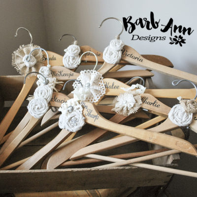Personalized Bridal Hanger