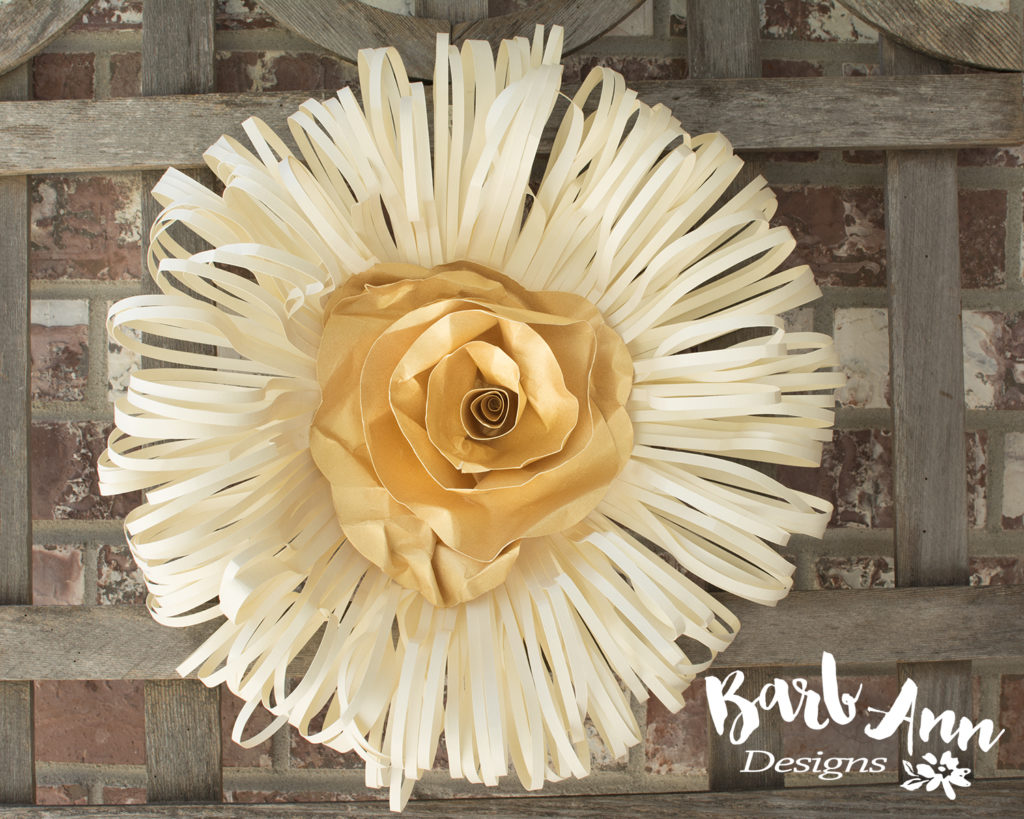 paper flowers Archives - Barb Ann Designs