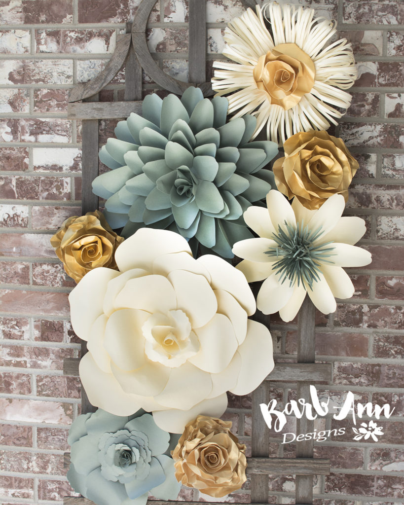 Paper Flowers Archives Barb Ann Designs