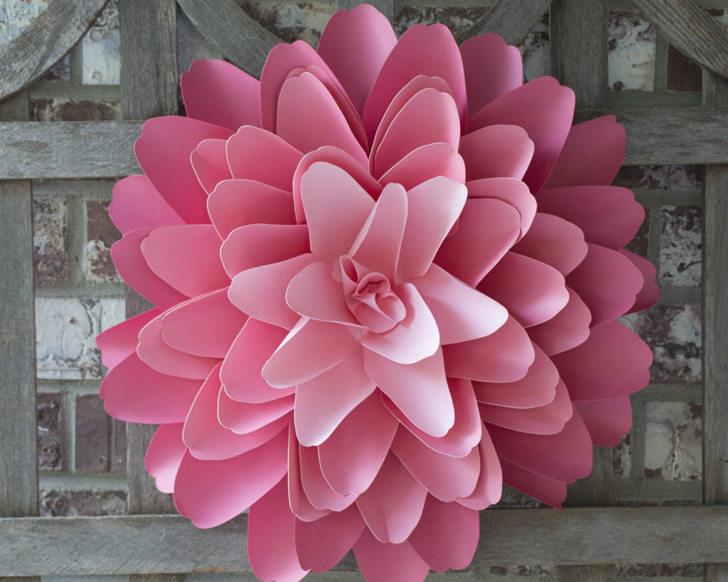Paper Flowers Take Center Stage In Nursery Decor Barb Ann Designs